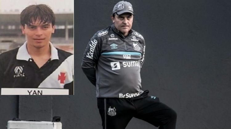 Yan, Vasco's revelation, is part of Fernando Diniz's commission - Reproduction / Ivan Storti/Santos FC - Reproduction / Ivan Storti/Santos FC