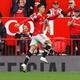 Euphoric Cristiano Ronaldo celebrates 1st goal scored on his return to Manchester United - Phil Noble/Reuters