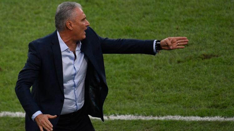 tite na final da copa america entre brasil e peru 1562535631773 v2 750x421 - Brasil supera tensão de expulsão, vence Peru e é campeão da Copa América