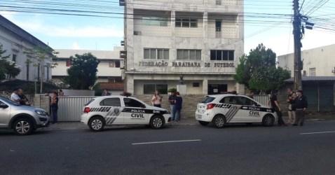 Resultado de imagem para Escândalo na federação paraibana de Futebol