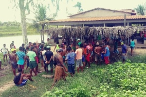 Integrantes do povo gamela, no Maranhão