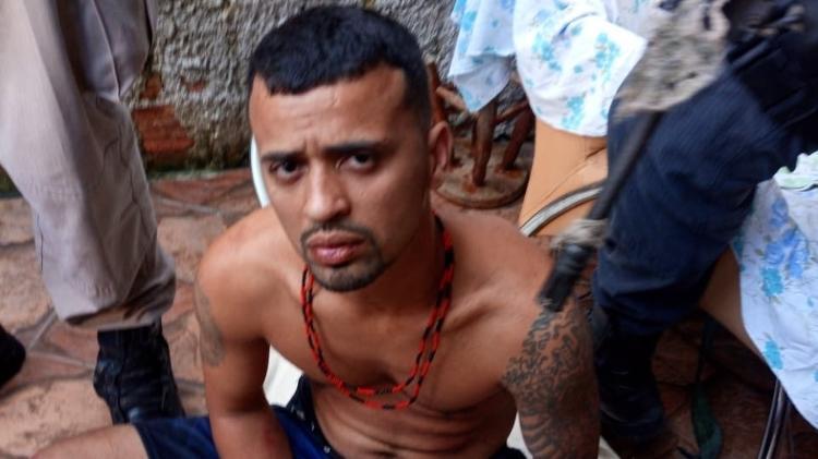 27.ago.2020 - Alex Marques de Melo, conhecido como Leo Serrote, chefiou a tentativa de invasão no Complexo do São Carlos, na região central do Rio, diz a polícia - Polícia Civil/Divulgação - Polícia Civil/Divulgação