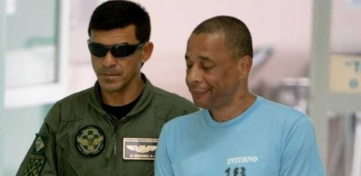 O traficante Elias Maluco (à direita) em foto de 2010