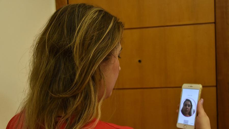 Sistema da Venuxx atrela a foto do rosto das motoristas e passageiras ao CPF - Dúnia Catelli/UOL