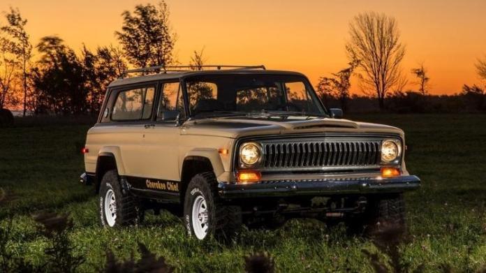 Jeep Cherokee Chief - Press Release - Press Release