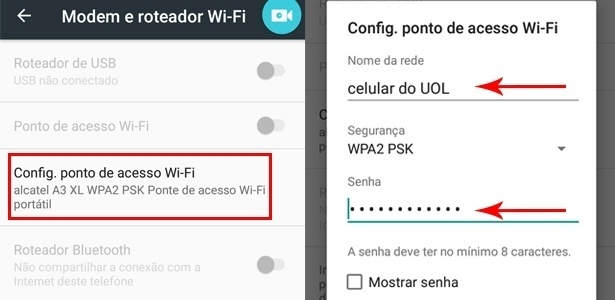 Android 2 - How to share your mobile internet and turn it into Wi-Fi - UOL - UOL