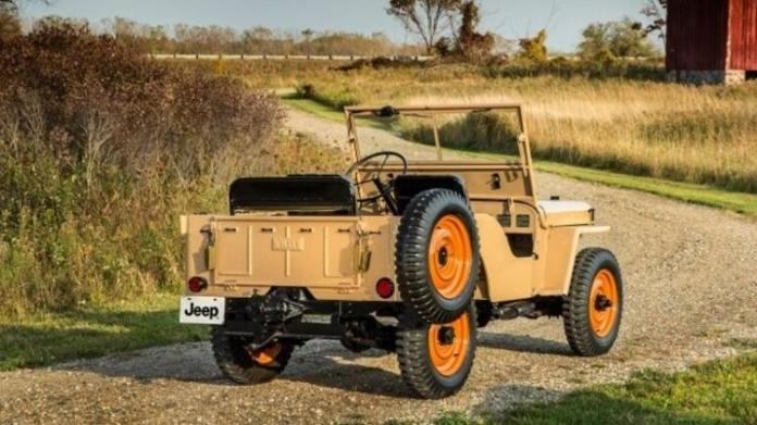Jeep CJ-2A - Press Release - Press Release