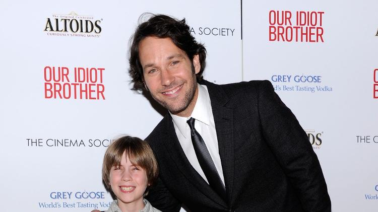 """Matthew Mindler and Paul Rudd at the release of """"my brother's idiot"""" - Dimitrios Kambouris/WireImage - Dimitrios Kambouris/WireImage"""