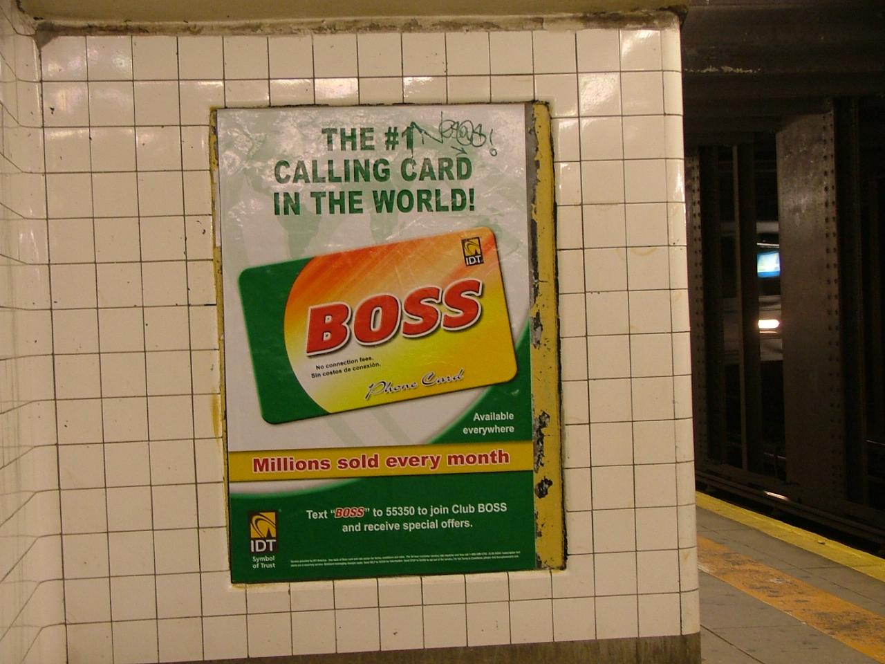 Subway Ad, New York City, Two Thousand And Nine