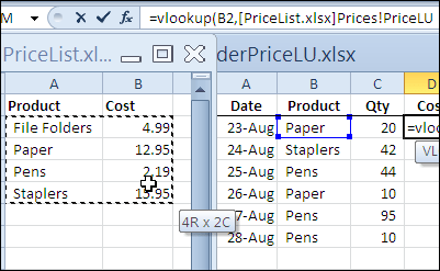 Excel Vlookup From Another Workbook