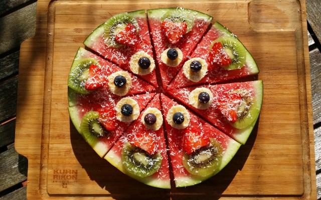 Pizza de sandía