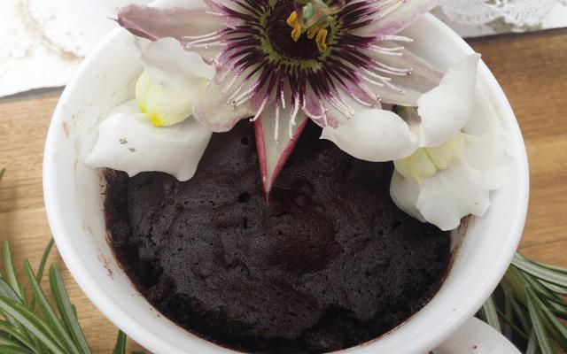 Brownie en taza ao micro