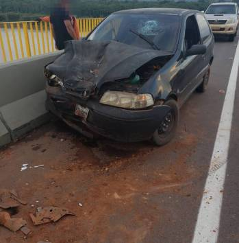 Acidente aconteceu neste domingo/Foto: Extrema 24h