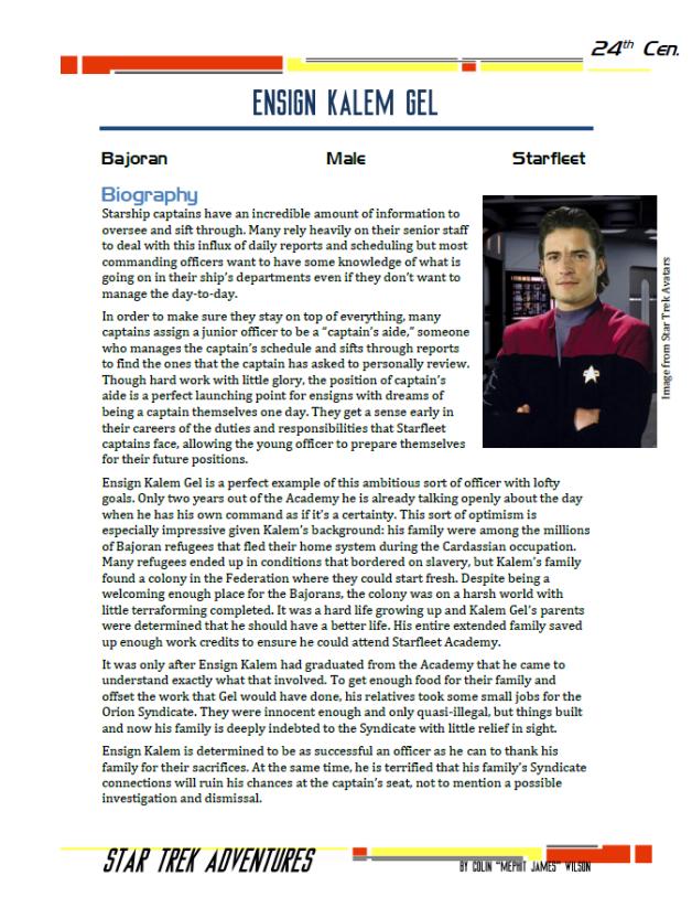 Kalem Gel - Captain's Aide - Preview