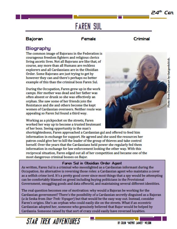 Faren Sul - Criminal Collaborator - Preview
