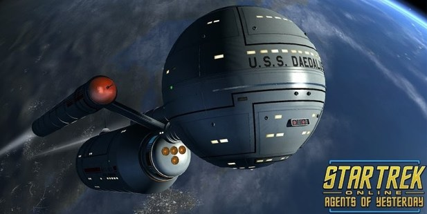 Star Trek Online Agents of Yesterday Daedalus class