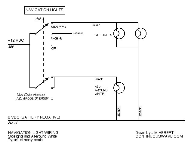 Boat Light Switch Wiring Diagram - Wiring Diagram
