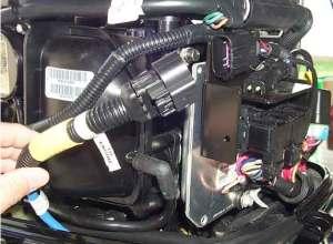 Installing SmartCraft On 40HP Mercury Fourstroke