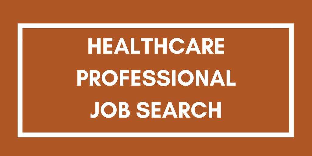 Healthcare job search
