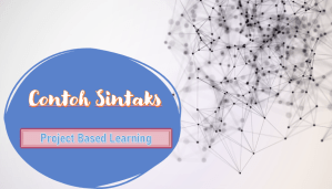 Contoh Sintak Project Based Learning