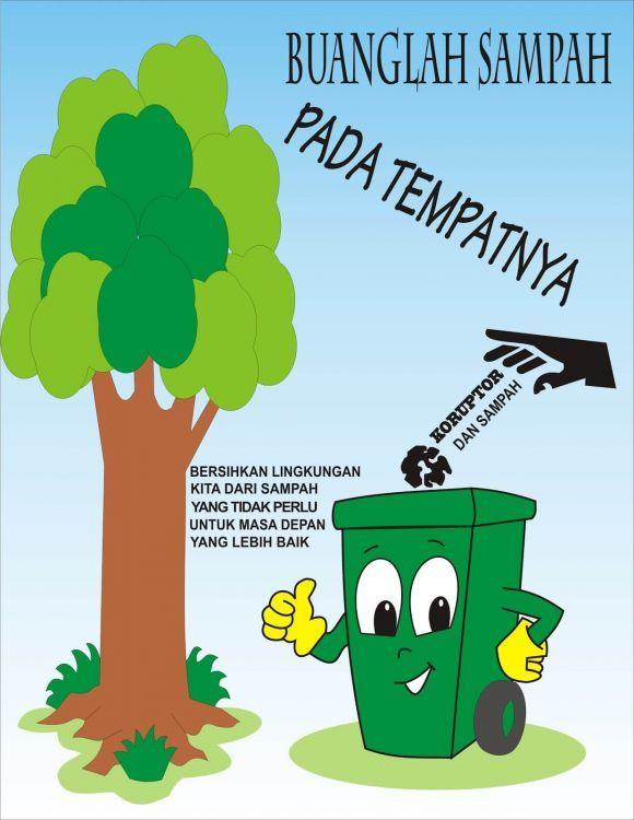 15 Contoh Gambar Dan Teks Poster Pendidikan Kesehatan Lingkungan