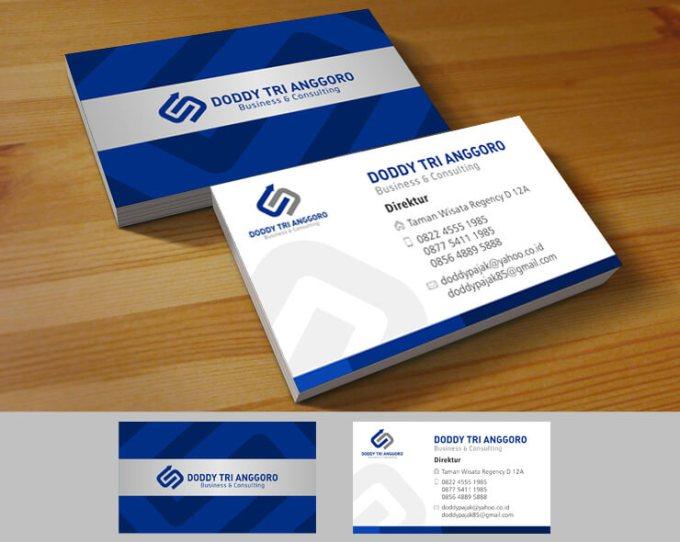 Contoh Desain kartu nama perusahaan
