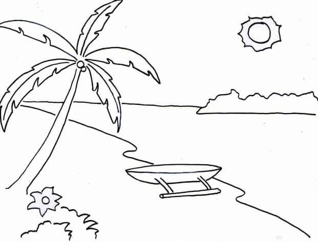 17 Contoh Gambar Pemandangan Alam Gunung Pantai Luat Pedesaan
