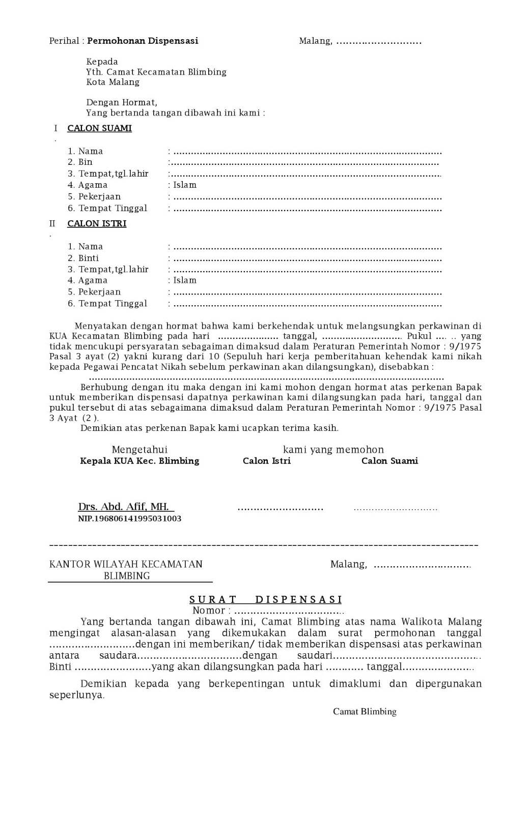 Contoh Surat Izin Ekskul Paskibra Suratmenyuratnet