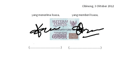 surat kuasa penagihan hutang