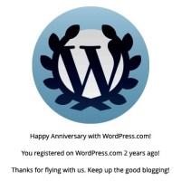 thank YOU WordPress