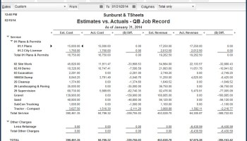 QuickBooks Job Costing From A Z Webinar