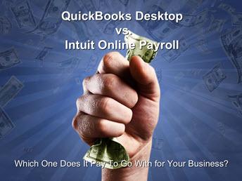 FREE Webinar – QuickBooks Desktop vs Intuit Online Payroll