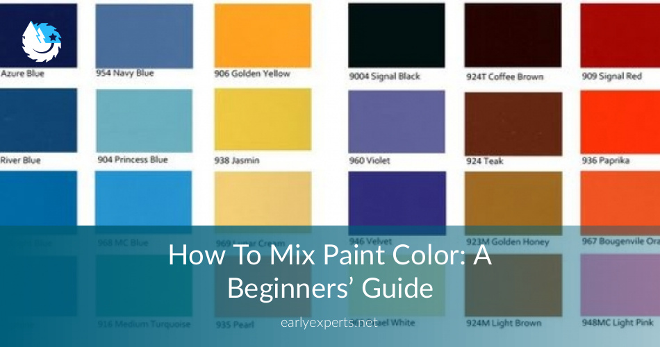 How To Mix Paint Colors A Smart ABC Guide ContractorCulture