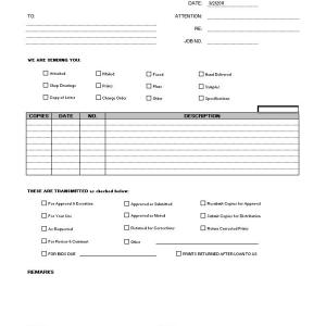 Submittal Transmittal - CMS