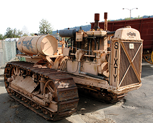 Another very rare machine, this Caterpillar Sixty still has its original gasoline engine installed and is a runner! These types of old Cat machines are highly regarded and sought after by machinery collectors.
