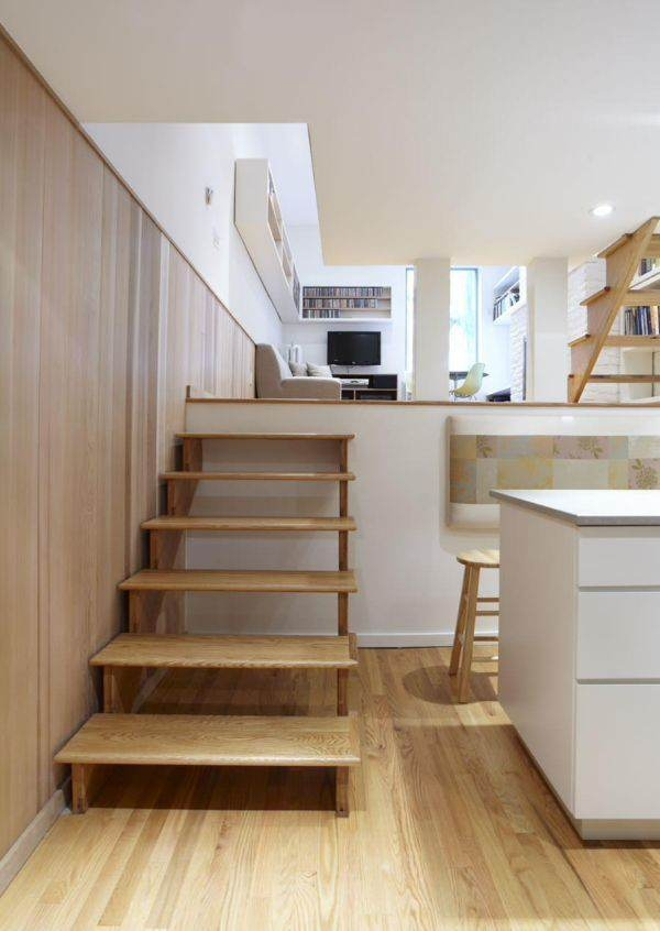 How To Modernize Your Split Level Home And Make It Look Better | Split Level Entry Stairs | Wood | Half Wall | Stairwell | Raised Bungalow | Interior