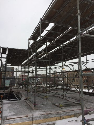 1605 W Ohio St winter enclosure scaffold 8