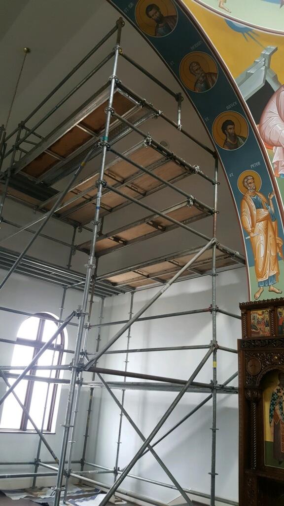 Greek Orthodox Church scaffold 3