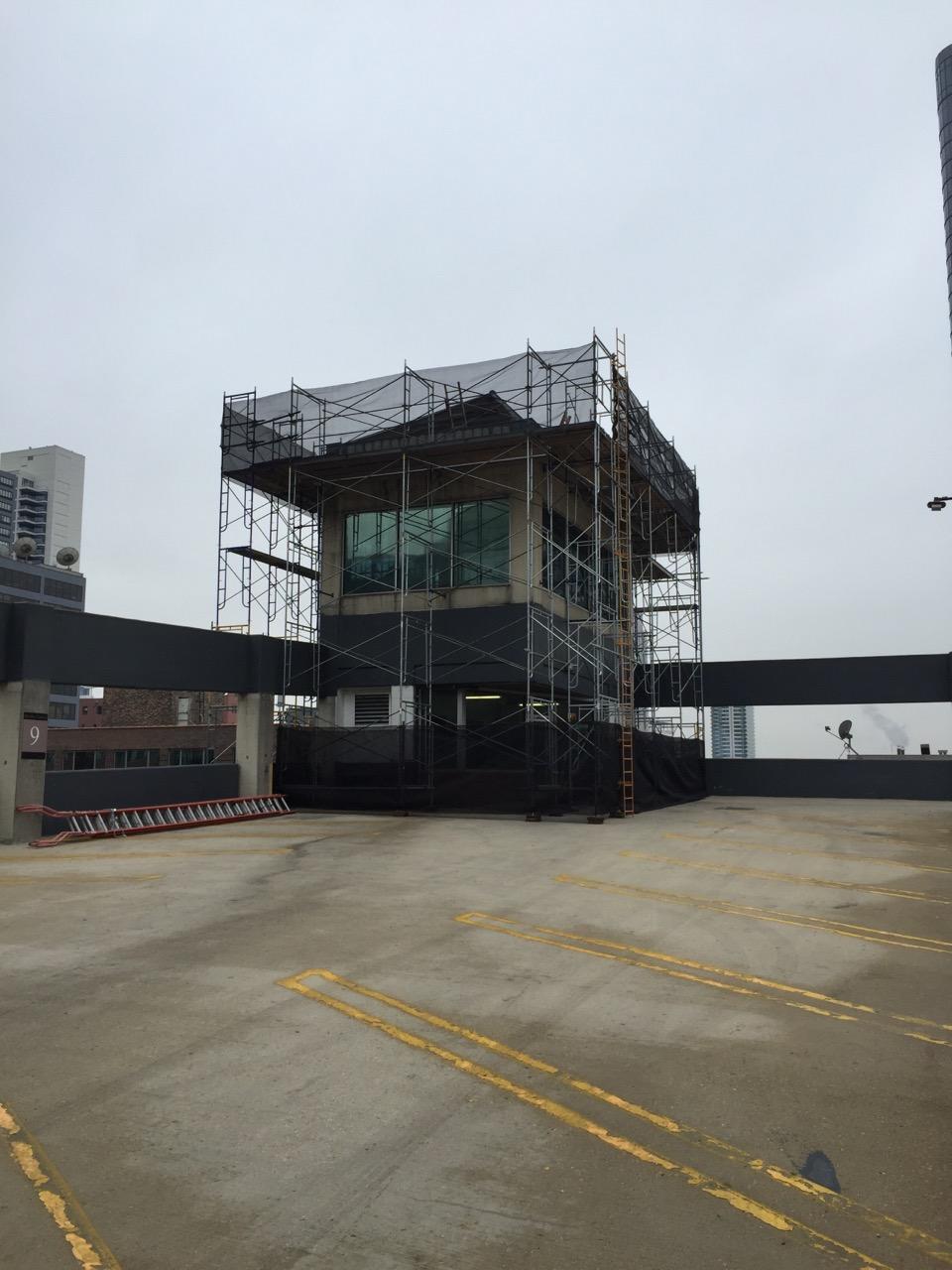 Chicago Parking Garage Scaffold