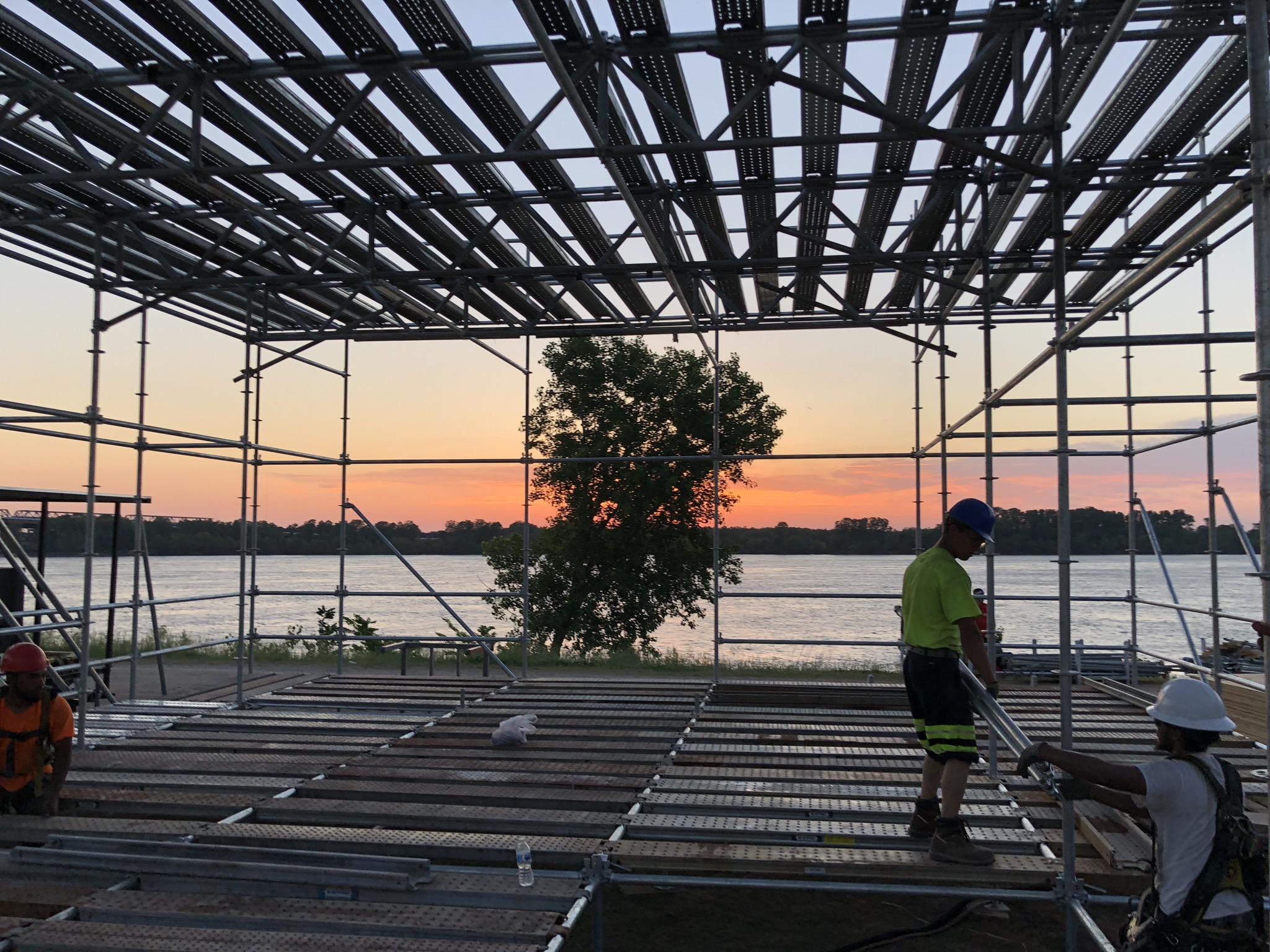BBQ in Memphis scaffold 2