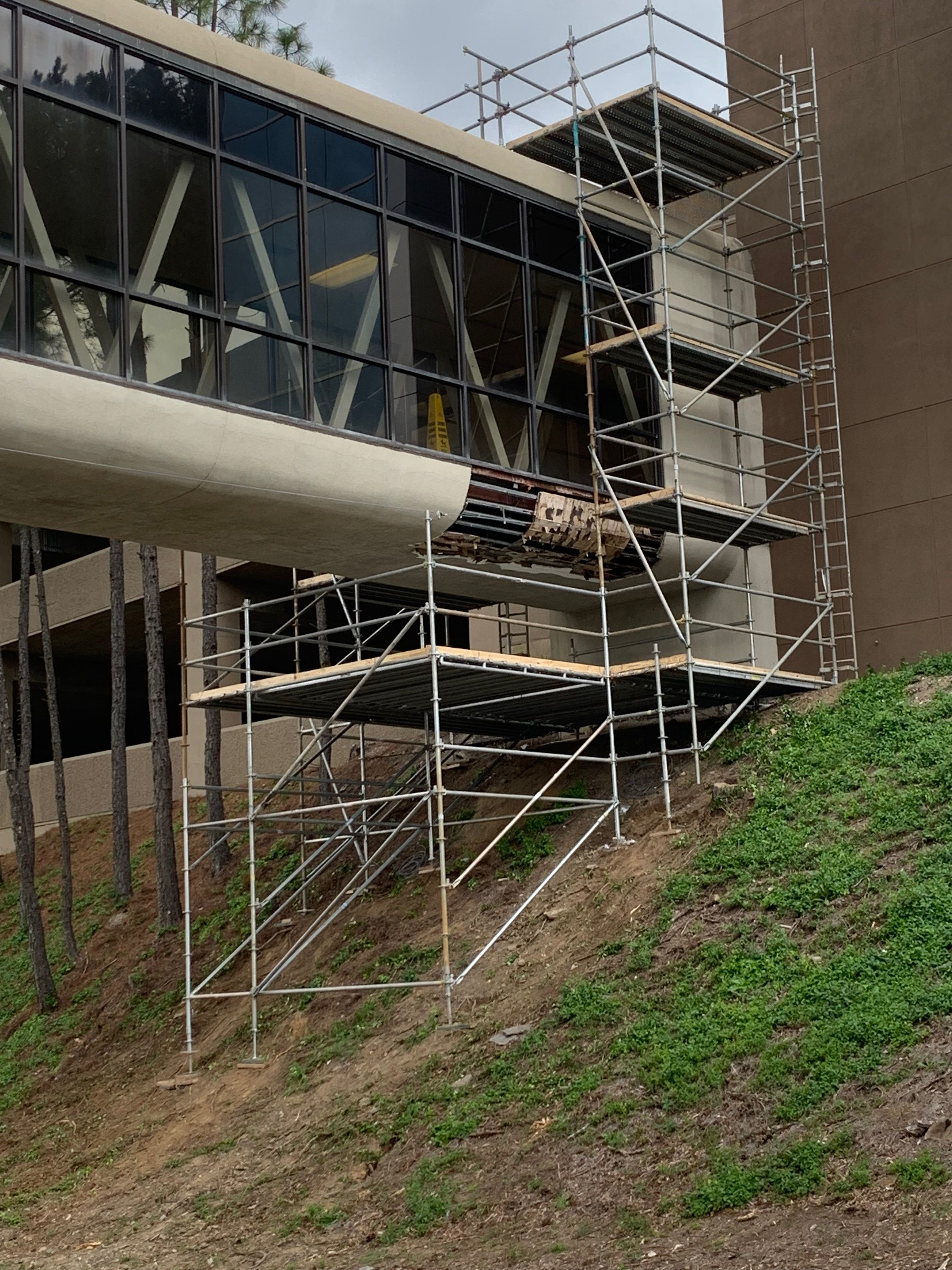 Brookwood Hospital Scaffold 3