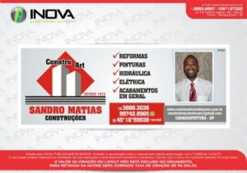 Logo Construart e Sandro