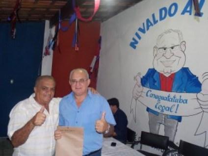 Nivaldo com Olavo Topógrafo 173