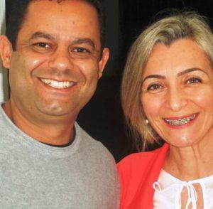 Vereador De Paula e Esposa