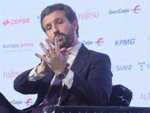 casado pide a sanchez intensificar la relacion con marruecos para resolver la crisis de la que lleva avisando un ano