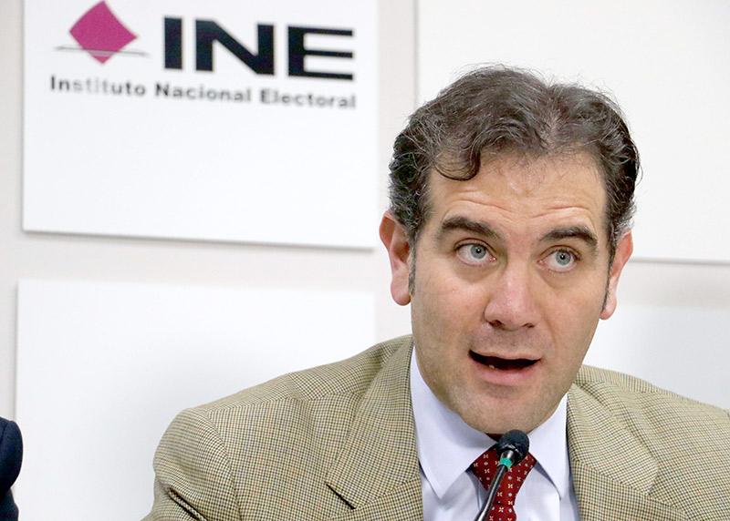 INE Lorenzo Córdova Consejero Presidente del Consejo General del INE