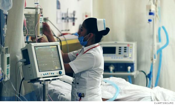 Camas para atención de pacientes con Covid-19