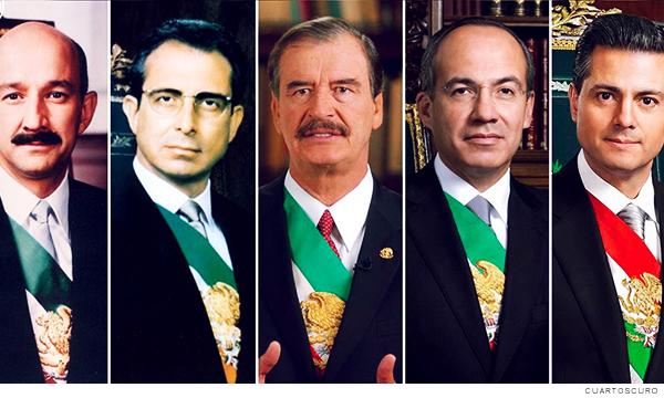 Expresidentes de México