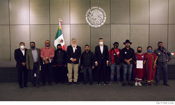 Negociación entre triquis y el gobierno de México