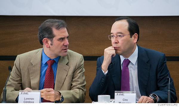 Lorenzo Córdova y Ciro Murayama